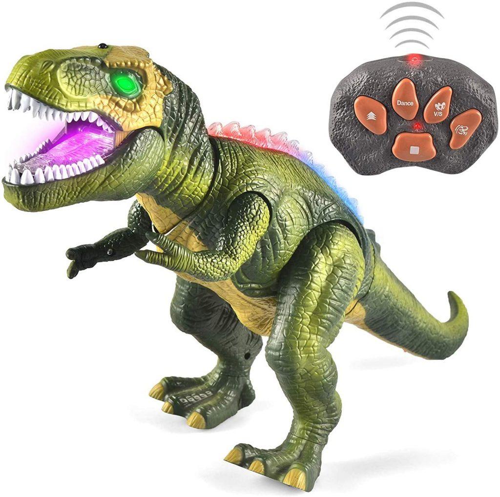 3 4 juguete para ni/ños a partir de 1 6 5 2 l/ámpara de juguete Juguete de dinosaurio con proyecci/ón de rotaci/ón de 360/° 7 a/ños